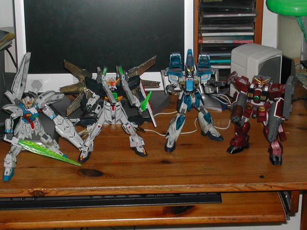 After war Gundam X Gunpla by Deadman0087