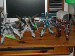 After war Gundam X Gunpla