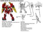 NAMS-G03F SerpentLord Gundam