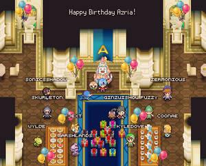 Azria's birthday