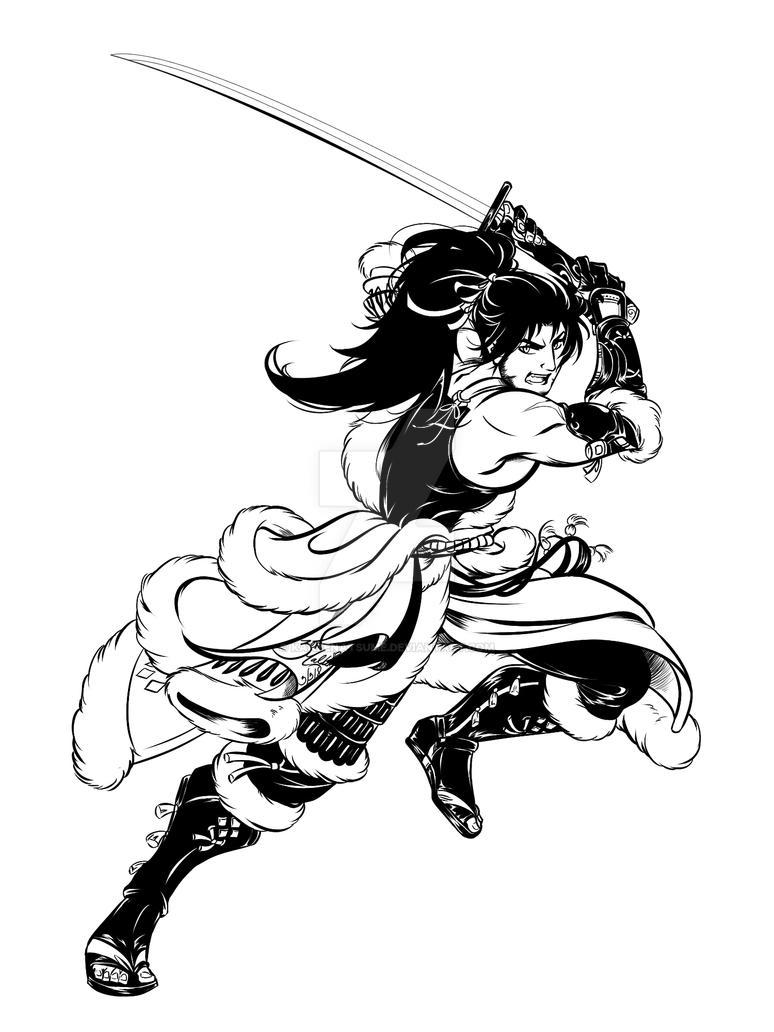 FFXIV Commission: Hien by kanzeNatsume