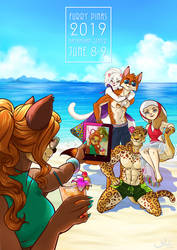 Furry Pinas 2019 - See You There! by kanzeNatsume