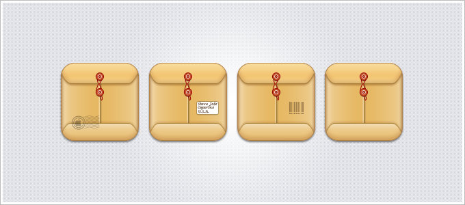 Mail iOS icons by okidoci
