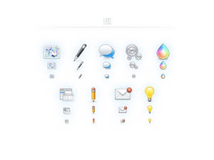 Litos - 125 web icons, PSD, PNG, Refills