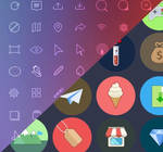 Iconmania! 600+ Quality Icons from Pixlsby.Me