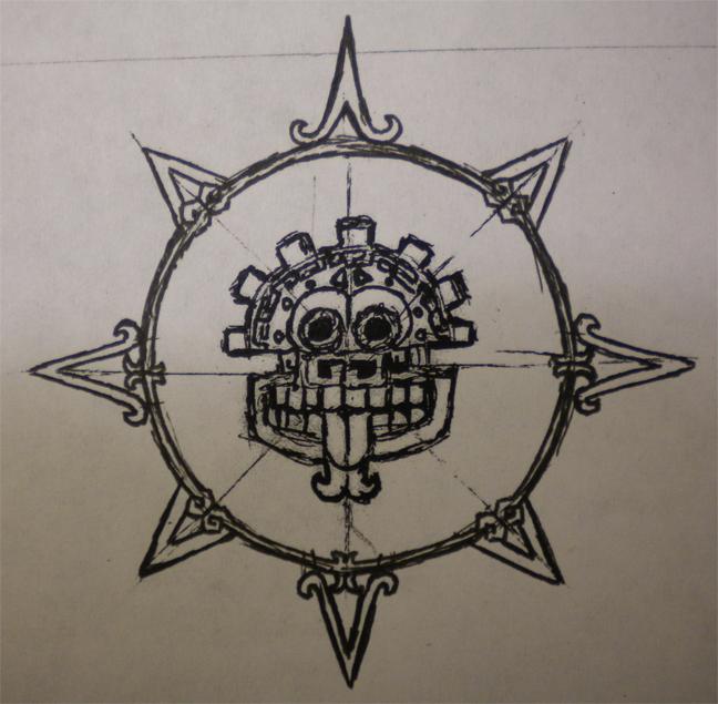 mayan inspired sun by captscott on deviantart. Black Bedroom Furniture Sets. Home Design Ideas