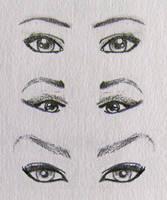 Female Eyes 2 by CaptScott