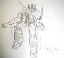 Optimus Prime WIP by CaptScott