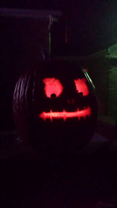 Skullface Jack-o-lantern by CODO912