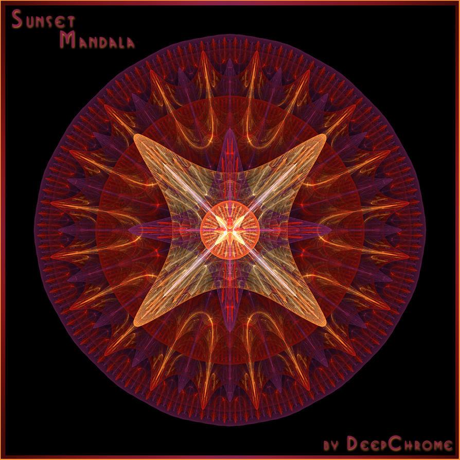 SUNSET MANDALA by DeepChrome