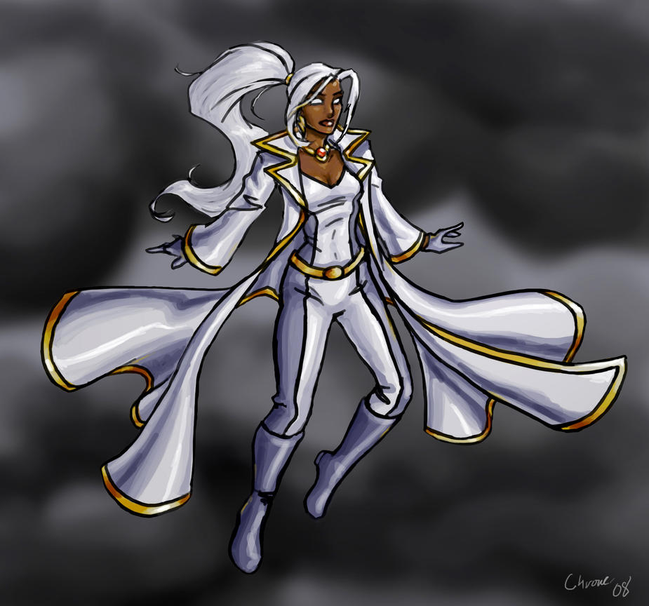 Storm's New Threads by DeepChrome