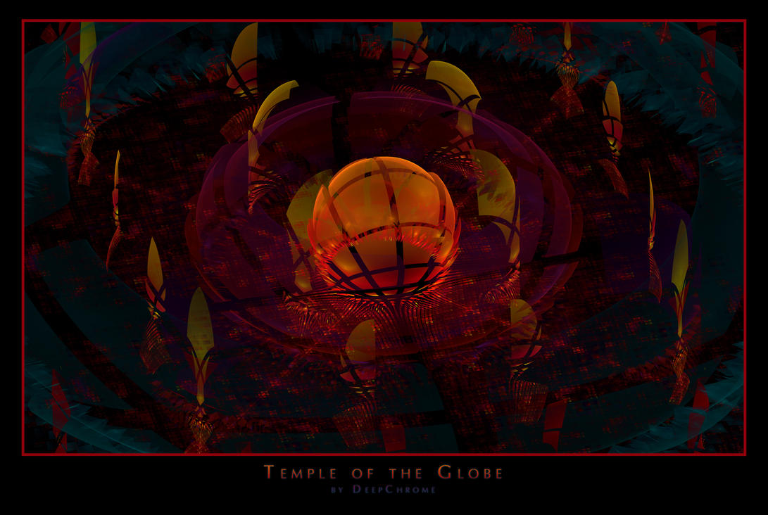 Temple of the Globe by DeepChrome