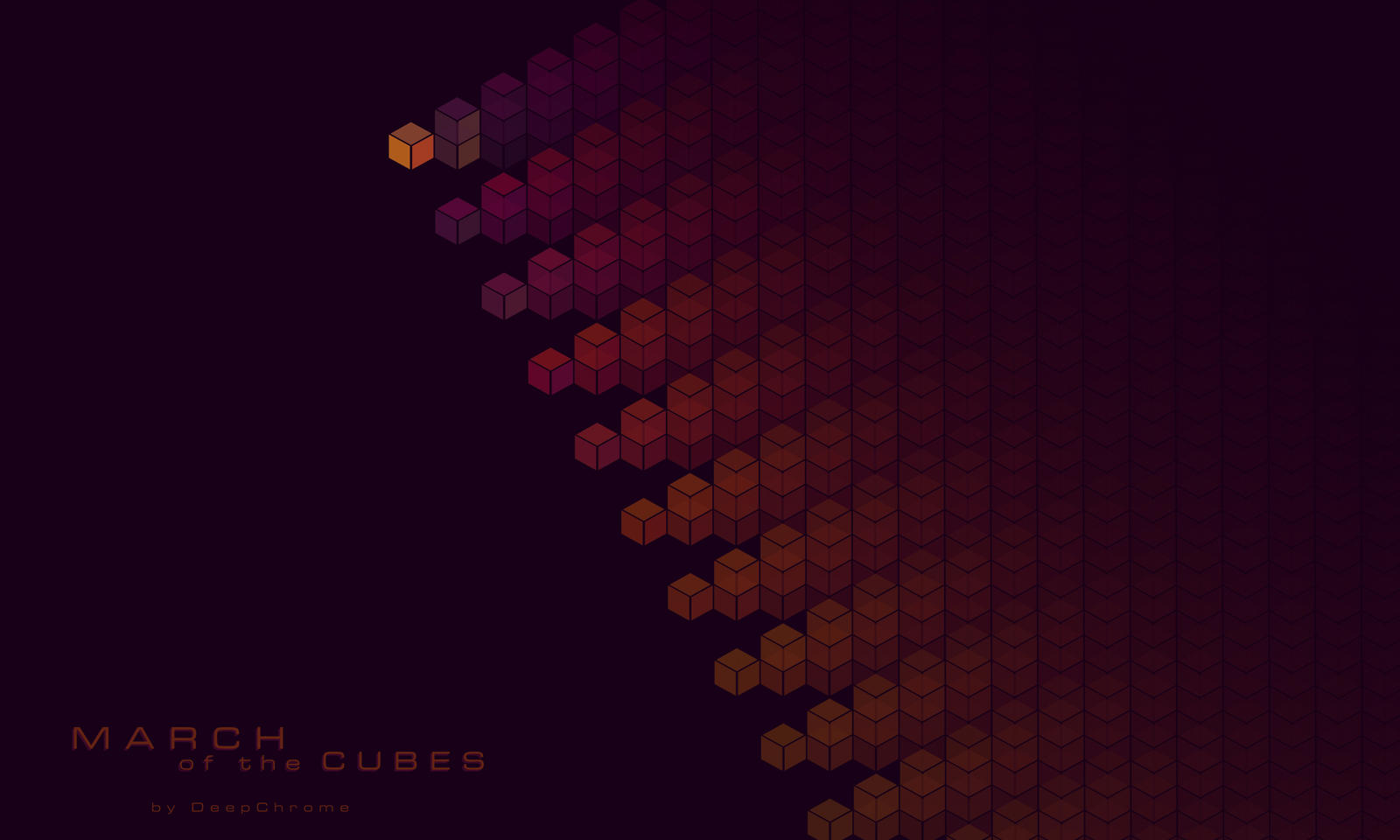 March of the Cubes by DeepChrome