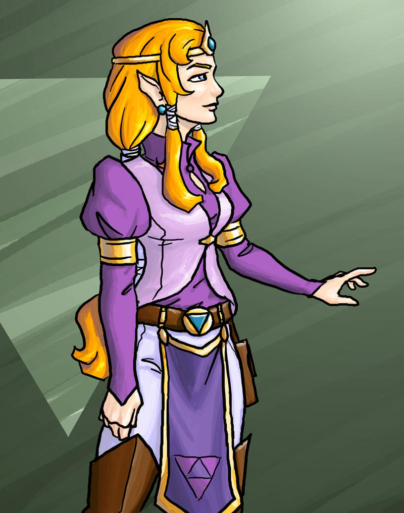 Zelda redesign by DeepChrome