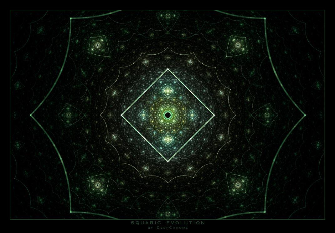 Squaric Evolution by DeepChrome