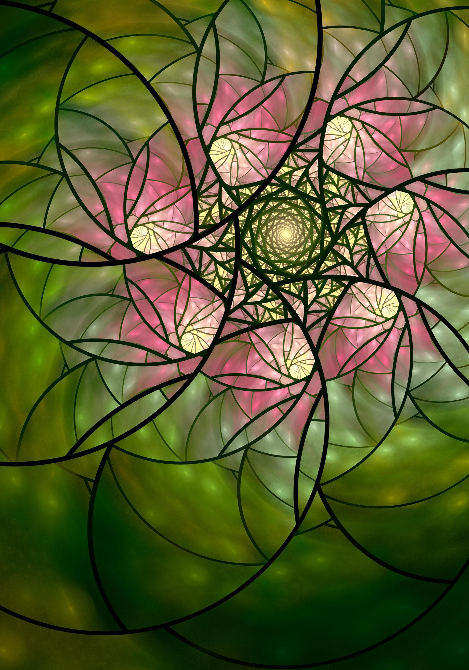 Springtime Spiral by DeepChrome