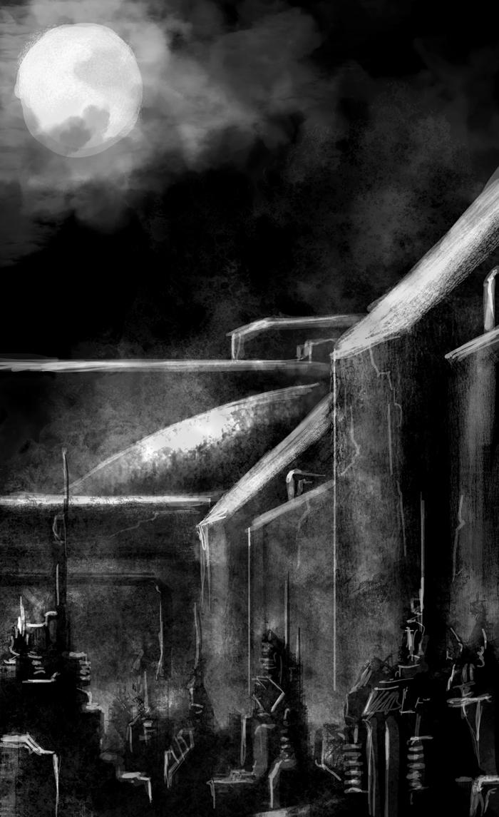 Black and White Speedpaint 1 by DeepChrome