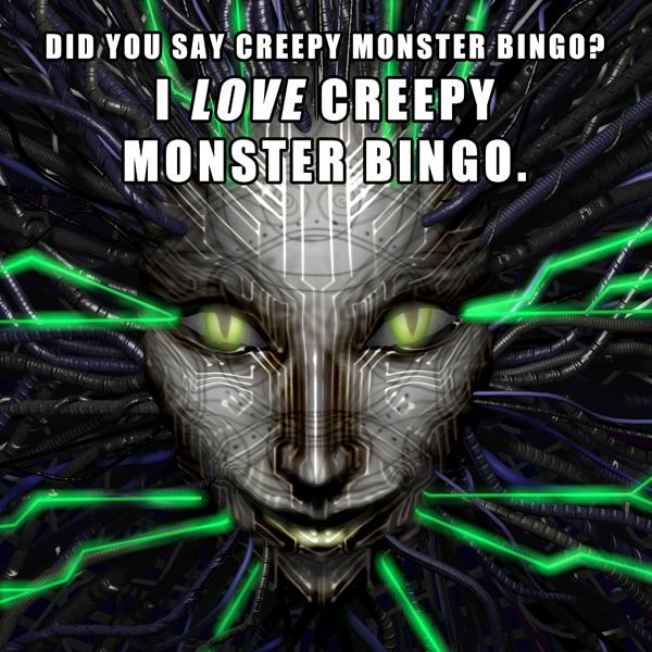 Creepy Monster Bingo by DeepChrome