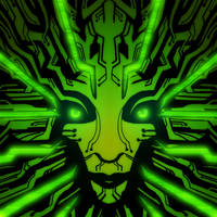 Redesign of Classic SHODAN's green face. by DeepChrome