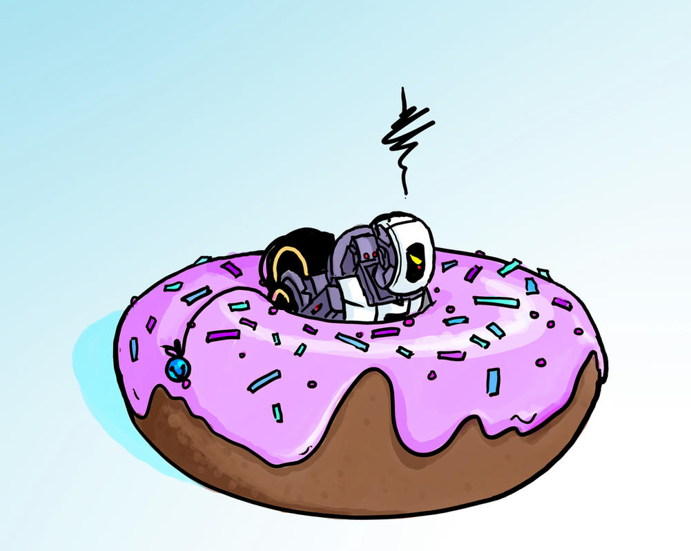 MicroDOS Stuck in a Donut by DeepChrome