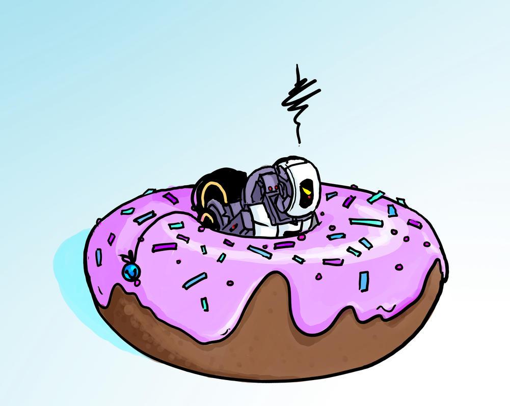MicroDOS Stuck in a Donut by DeepChrome