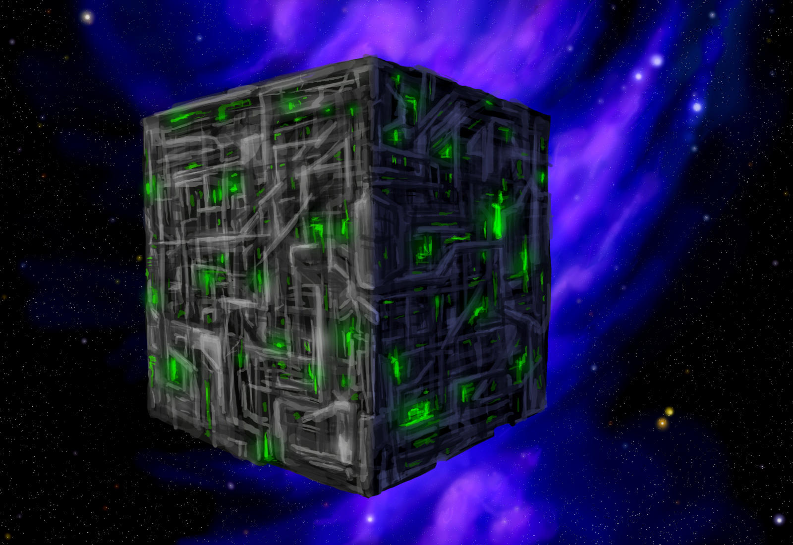 Rubik's Nightmare by DeepChrome