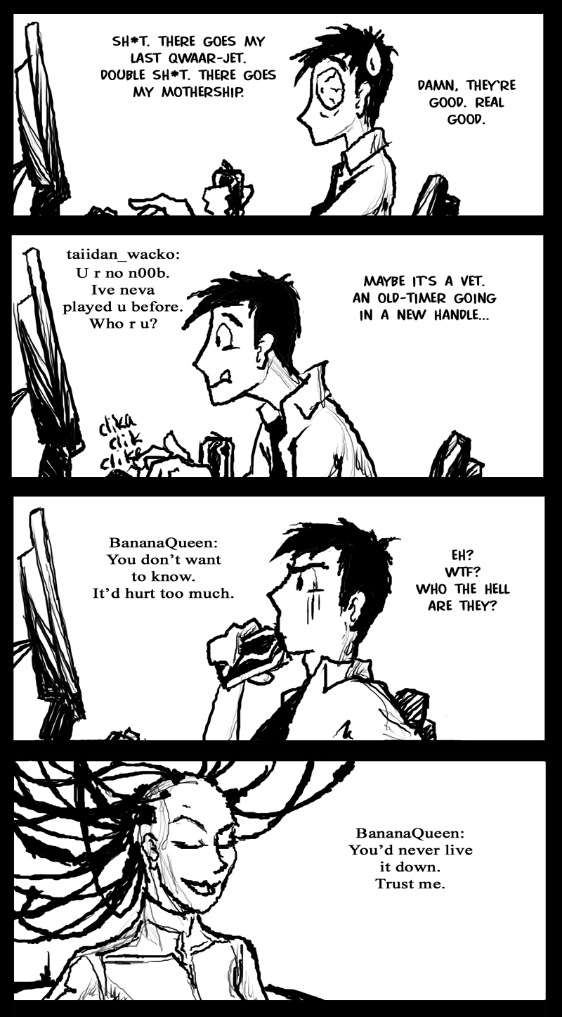 Homeworld fanart comic