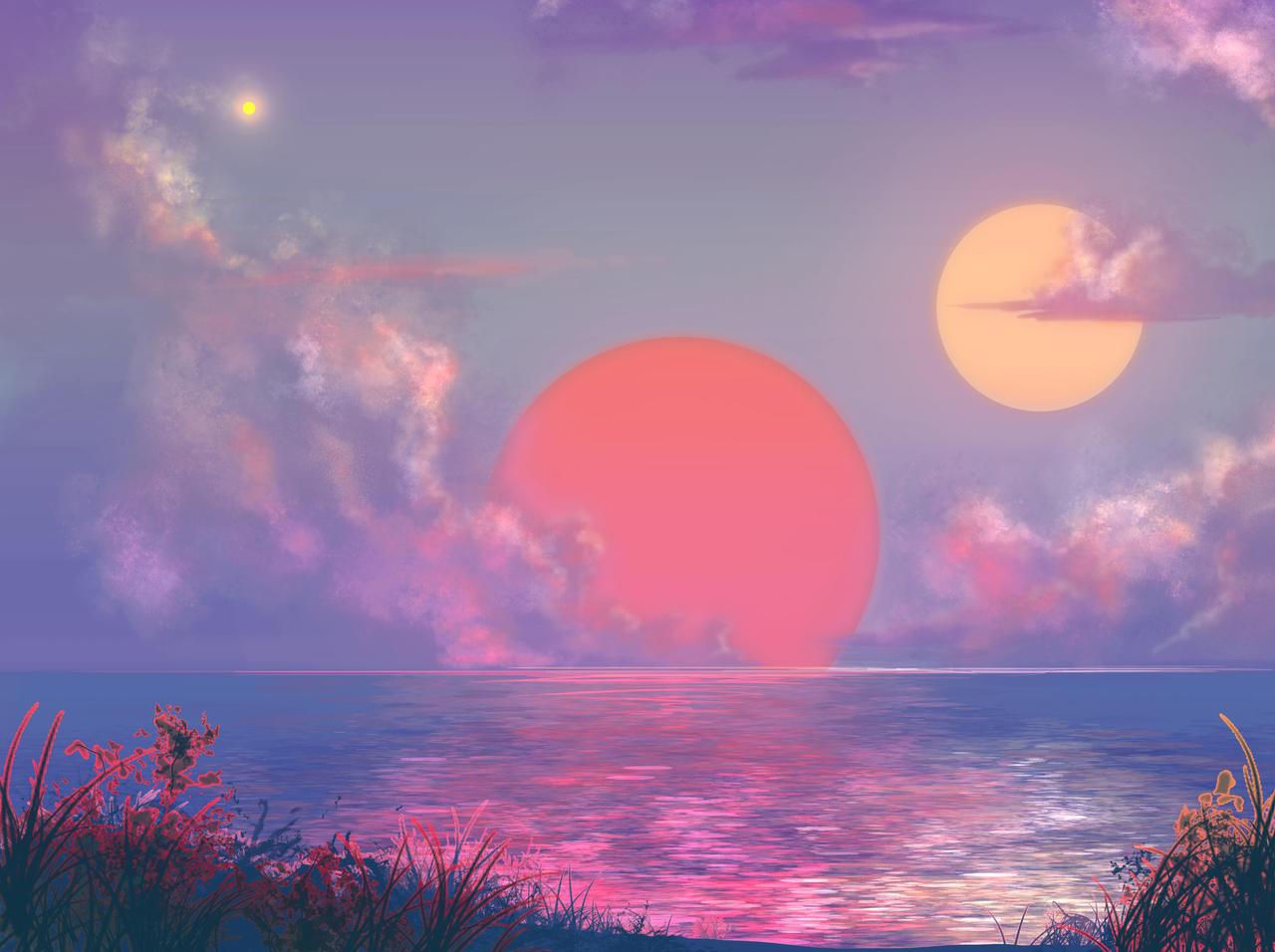 Alien Sunrise by DeepChrome