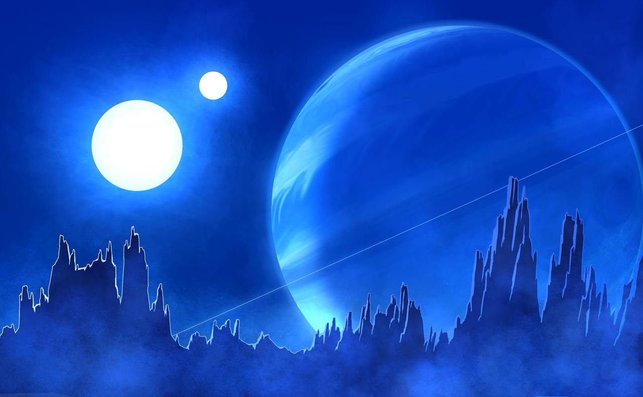Another Alien Sunrise by DeepChrome