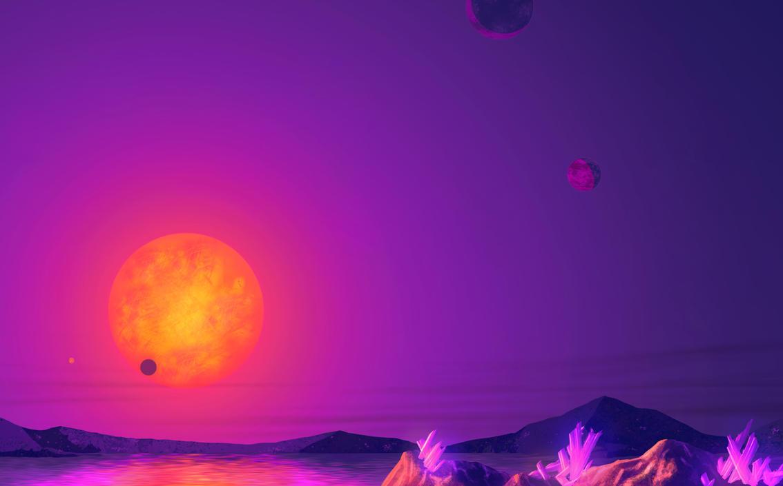 TRAPPIST-1 by DeepChrome