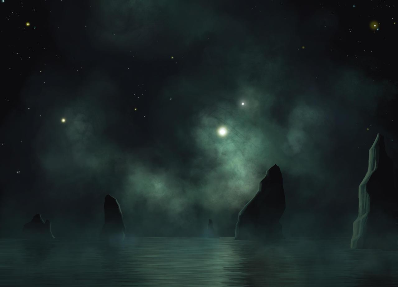 Mellow Nebula Night by DeepChrome