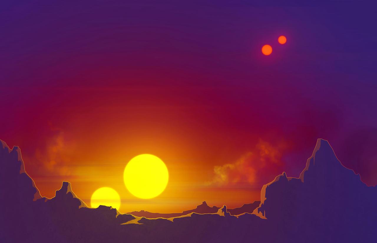 Four Suns by DeepChrome