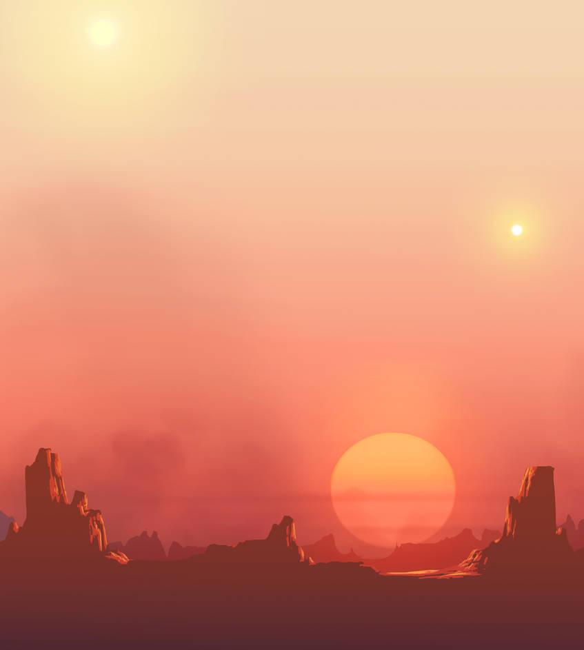 Triple Sunset by DeepChrome