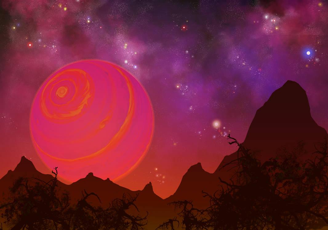 Brown Dwarf Sunrise by DeepChrome