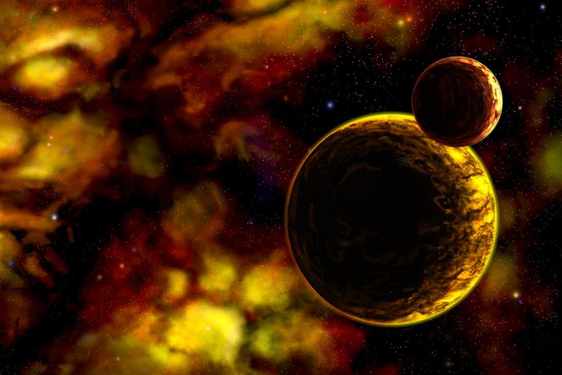 Halloween Nebula II by DeepChrome