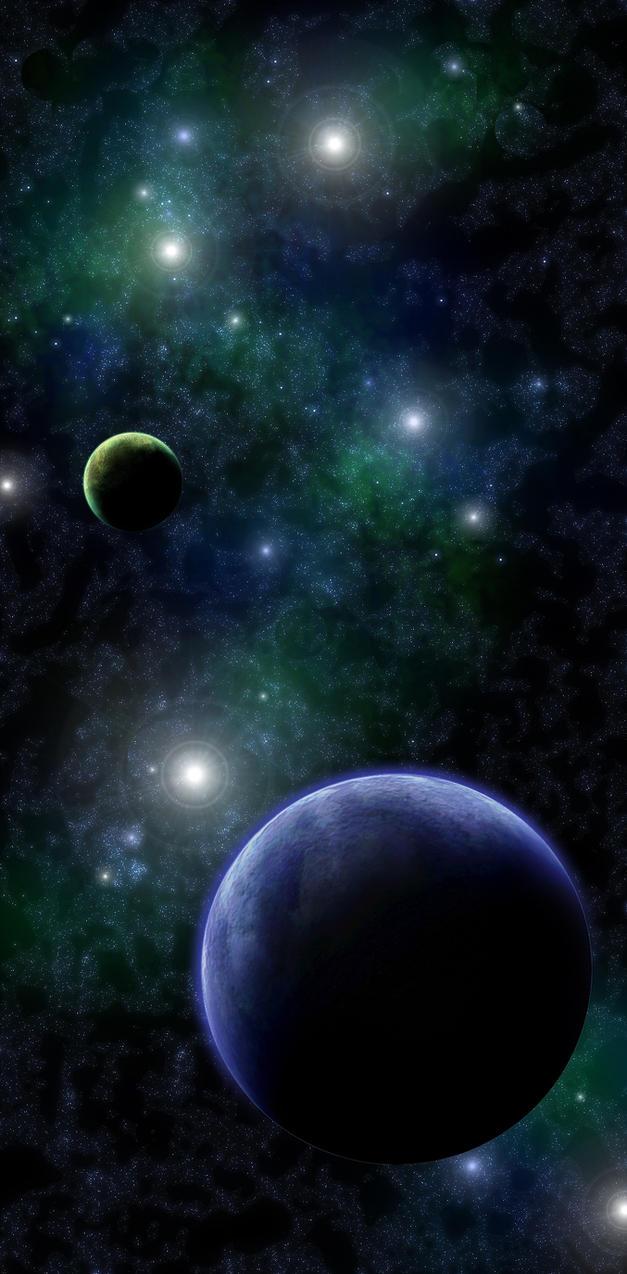 Spacescape II by DeepChrome