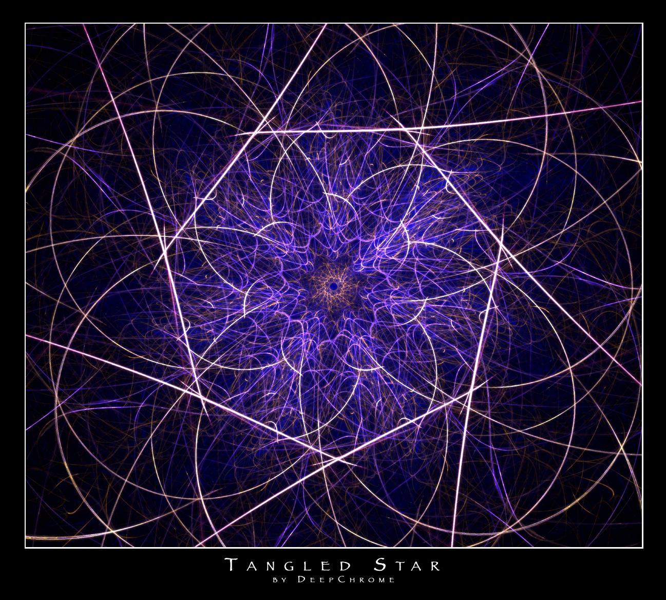 Tangled Star by DeepChrome