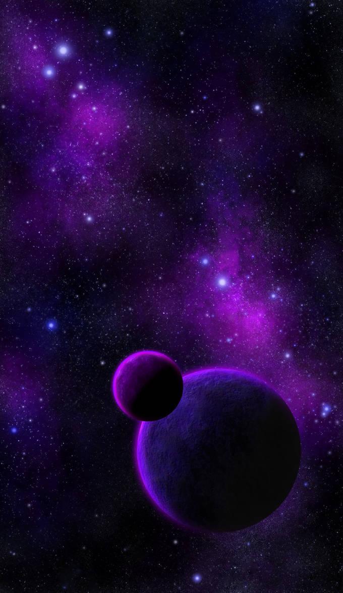 Purple Space by DeepChrome