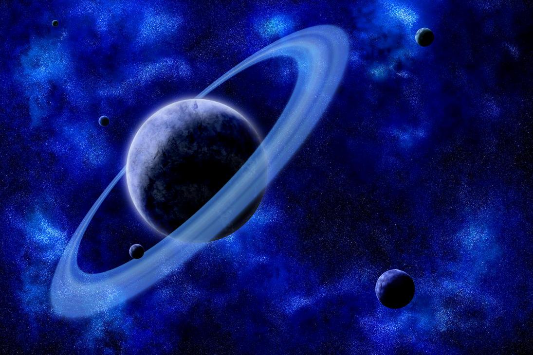 BLUE SPACE by DeepChrome