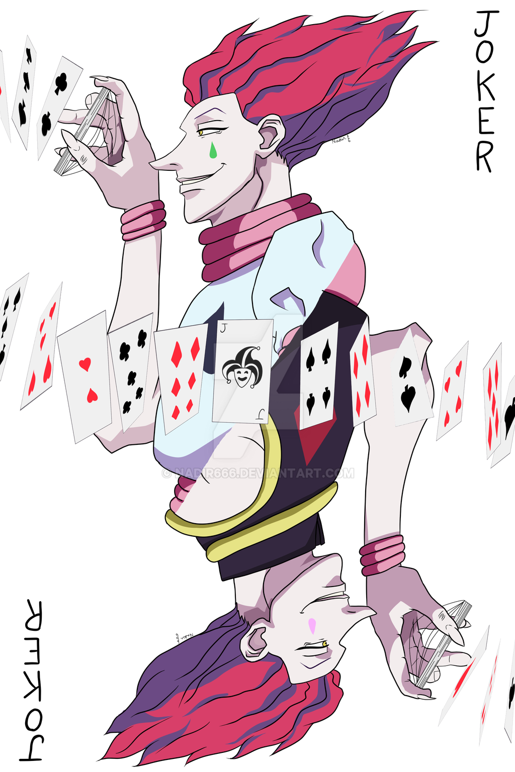 Hisoka Joker Card By Nadir666