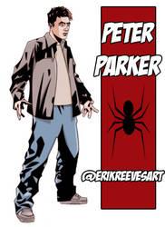 PETER PARKER by erockalipse