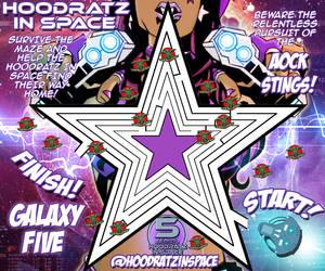 HOODRATZ IN SPACE GALAXY FIVE MAZE GAME! by erockalipse
