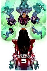 Hoodratz In Space issue #5 cover by erockalipse