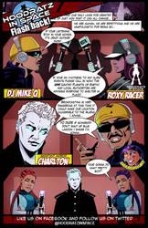 FLASHBACK from HOODRATZ IN SPACE #4 by erockalipse