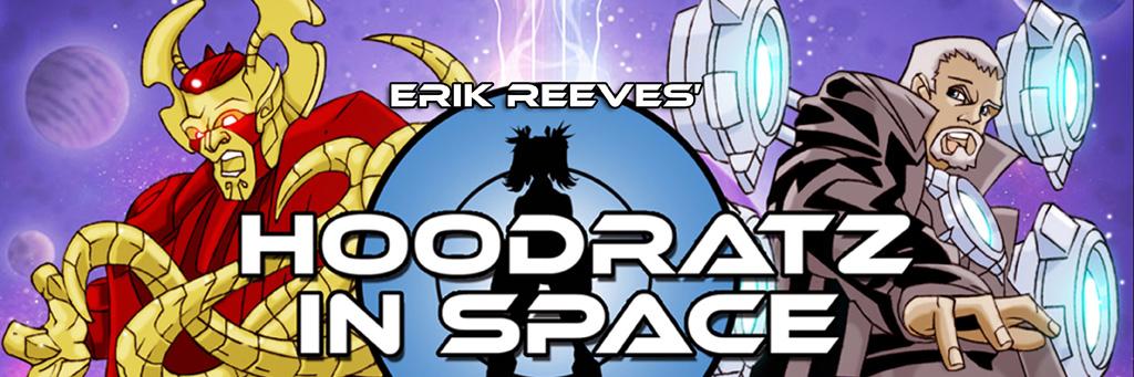 HOODRATZ IN SPACE GALAXY GUIDE Volume One! by erockalipse