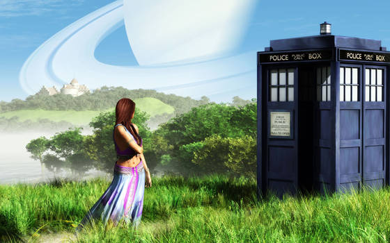 Even Time Lords need a vacation.