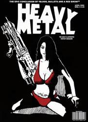 Heavy Metal - Red Bikini by dasneviano