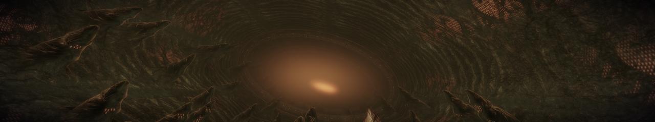 Collector 2 - Mass Effect 2 5760x1080 Wallpaper by Furente7