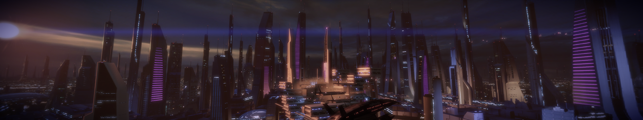 Illium 6 - Mass Effect 2 5760x1080 Wallpaper by Furente7