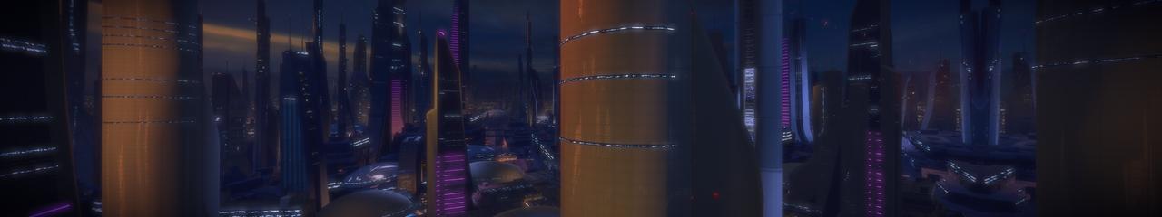 Illium 7 - Mass Effect 2 5760x1080 Wallpaper by Furente7